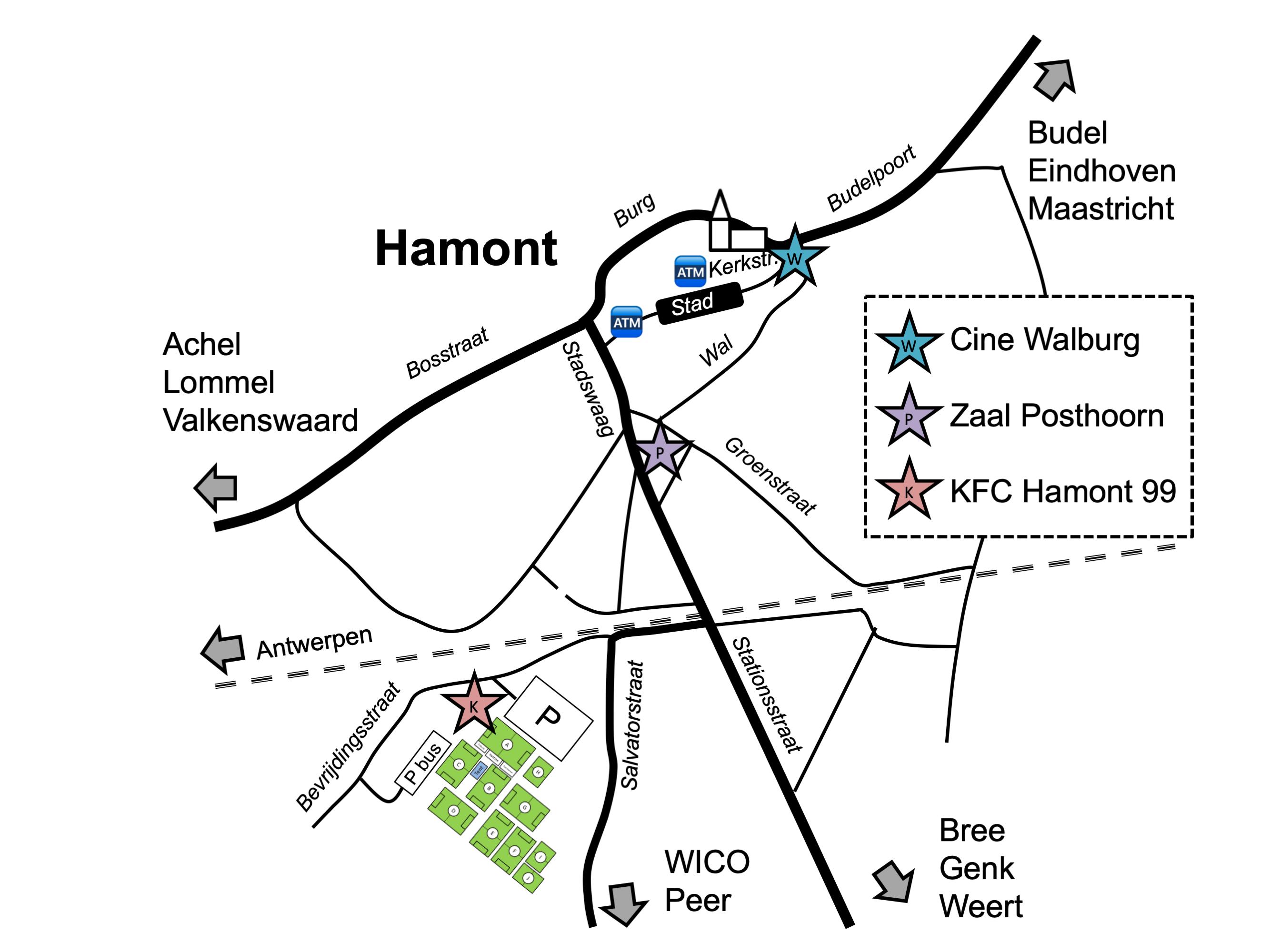 Euro-Cup locatie Hamont