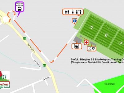 BÁNYÁSZ SE TRAINING CENTER MAP
