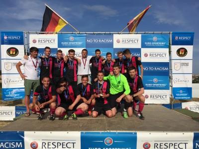 Copa catalunya Respect ceremony
