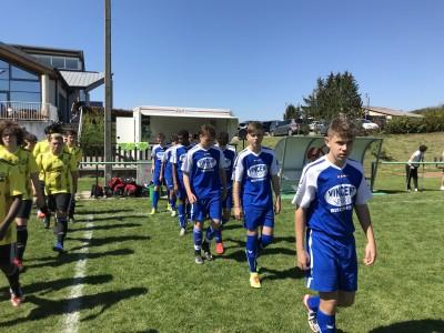 Début de match à Imbsheim